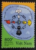 VIETNAM VIET NAM 2001 DIALOGUE AMONG CIVILIZATIONS CIVILISATIONS DIALOG DIALOGO JOINT ISSUE MNH ** - Emissions Communes