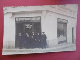 PERPIGNAN  ( 66 ) CARTE PHOTO De La BIJOUTERIE - THUBERT Frères & MASSE  -  11 Quai VAUBAN - Perpignan