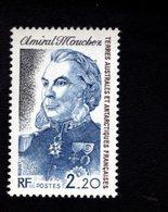 762551447 1987 SCOTT 129 POSTFRIS  MINT NEVER HINGED EINWANDFREI  (XX) ADMIRAL MOUCHEZ - Terres Australes Et Antarctiques Françaises (TAAF)