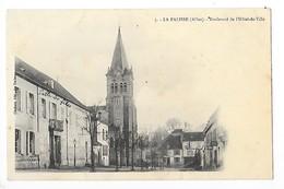 LA PALISSE  (cpa 03)  Boulevard De L'hôtel De Ville    -  L  1 - Lapalisse