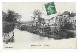 LAPALISSE  (cpa 03)  La Besbre    -  L  1 - Lapalisse