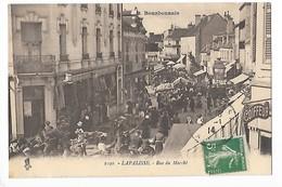 LAPALISSE  (cpa 03)  Rue Du Marché    -  L  1 - Lapalisse
