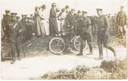 LORD KICHENER At Salis...plair - Prachtige Fotokaart - Beschreven : Zie Scans - 1914-18