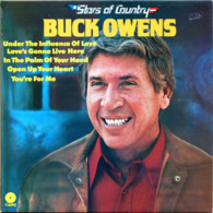 * LP *  BUCK OWENS - STARS OF COUNTRY (Holland 1975 EX) - Country & Folk