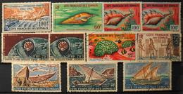 France (ex-colonies & Protectorats) > Côte Française Des Somalis > 1962 Poste Aérienne Collection - NEUFS*/O - Costa Francesa De Somalia (1894-1967)