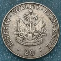 Haiti 20 Centimes, 1986 -4512 - Haiti