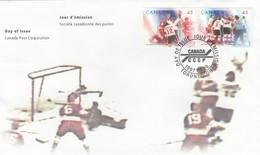 GOOD CANADA FDC 1997 - Hockey - 1991-2000
