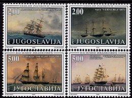Yugoslavia - 1998 - Sailing Ships - Maritime Museum In Kotor - Mint Stamp Set - 1992-2003 Federal Republic Of Yugoslavia