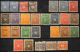 France (ex-colonies & Protectorats) > Côte Française Des Somalis > 1915-1947 Timbres-Taxe Collection - NEUFS* - Ungebraucht