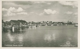 Stensö, Halvö (Kalmar Län); Fiskhamnen - Not Circulated. (Dillbergska Bokhandeln - Kalmar) - Suède