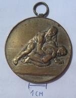 MEDAL  Wrestling 1937   KUT - Wrestling