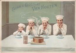 Chromo : Cacao & Chocolat : Van Houten : Les 4 Petits Patissiers - Van Houten