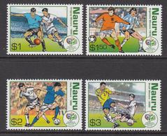 2006 Nauru World Cup Football  Complete Set Of 4 MNH - Nauru