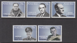 2008 Nauru Royal Air Force  Aviation Military Complete Set Of 5 MNH - Nauru