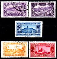 Siria-00038 - Valori Del 1930-36 (o) Used - Senza Difetti Occulti. - Syrie (1919-1945)