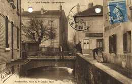 Les Vosges Rambervillers Pont Du 9 Octobre 1870 RV - Rambervillers