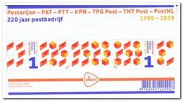 Nederland 2019, Postfris MNH, 220 Years Postal Company - 2013-... (Willem-Alexander)