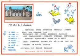 18-HAUTE-GOULAINE- SOULIGNER L'ADJECTIF DESIRE - Francia
