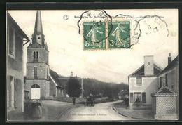 CPA Vaunoise, Quartier De L`Eglise - France