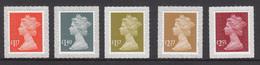 Great Britain MNH Michel Nr 4025/29 From 2017 Definitives - 1952-.... (Elizabeth II)