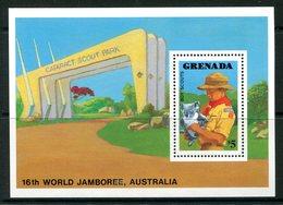 Grenada 1988 World Scout Jamboree, Australia MS MNH (SG MS1759) - Grenada (1974-...)