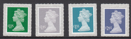 Great Britain MNH Michel Nr 4192/95 From 2018  Definitives - 1952-.... (Elizabeth II)
