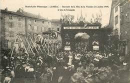 LANGEAC SOUVENIR DE LA FETE DE LA VICTOIRE ARC DE TRIOMPHE - Langeac