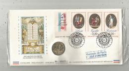 Enveloppe Officielle Monnaie De Paris, Premier Jour, Déclaration Des Droits De L'homme... ,4 Scans,frais Fr : 1.95 E - Autres