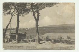 CASTEL GANDOLFO - VILLINI SUL LAGO 1912   VIAGGIATA FP - Other