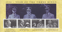 2006 Nauru Three Kings   Souvenir Sheet MNH Complete - Nauru