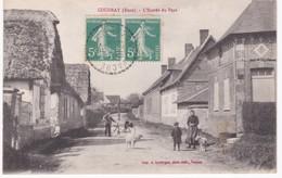 27 Eure -  COUDRAY -  L'Entrée Du Pays - Ed. Lavergne, Vernon - 1920 - France