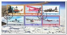 Ross 2018, Gestempeld USED, Aeroplane - Ross Dependency (Nieuw-Zeeland)