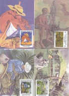 GOOD FRENCH POLYNESIA Maxicard 1995 - Art / Painting - Maximum Cards