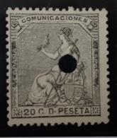 España N134T - 1872-73 Reino: Amadeo I