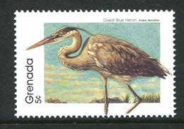 Grenada 1989-94 Birds - P.14 - 5c Great Blue Heron MNH (SG 1994) - Grenada (1974-...)