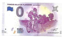 BELGIQUE  FAMOUS HILLS OF FLANDERS  (billet 0 Euro)  CYCLISME  VELO - Altri