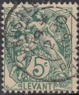 Levant Bureaux Français 1902-1922 - Jerusalem / Palestine Sur N° 13 (YT) N° 13 (AM). Oblitération. - Oblitérés