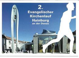 3072e: AK 2410 Hainburg- Martin Luther- Kirche, Evangelischer Kirchenlauf 2018, Ungelaufen - Leichtathletik