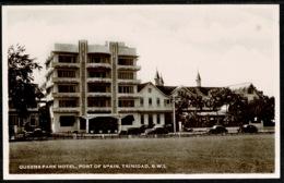 Ref 1292 - Real Photo Postcard - Art Deco - Queens Park Hotel Port Of Spain - Trinidad BWI - Trinidad