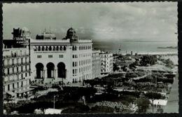 Ref 1292 - RP Postcard Boulevard Laferriere & La Grande Poste Alger - Algeria France Colony - Algiers