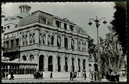 Ref 1292 - Real Photo Postcard - L'Opera Alger - Algeria Ex France Colony - Algiers