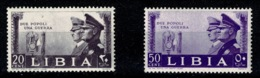 Ref 1292 - 2 Italy Libia Italian Colonies MNH Stamps - Libya