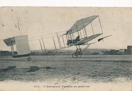 CPA - Thèmes - Avions - L'Aéroplane Farman En Plein Vol - ....-1914: Precursori