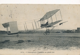 CPA - Thèmes - Avions - L'Aéroplane Farman En Plein Vol - ....-1914: Précurseurs