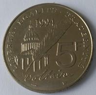 5 FRANCS 1994 - VOLTAIRE - TTB - - France