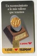 TK 05871 PERU - Chip 30 000 Ex. - Peru
