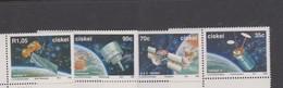 South Africa-Ciskei Scott 191-194 1992 Satellites, Mint Never Hinged - Ciskei