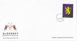 GOOD ALDERNEY FDC 2008 - Alderney Stamps 25 - Alderney