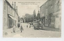 PONTAILLER SUR SAONE - Entrée Par Le Pont Saint Jean - Altri Comuni