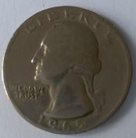 QUARTER  DOLLAR - 1965 - Washington - - 1932-1998: Washington